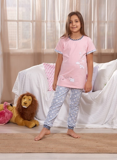 Zeyzey Pijama Takım Oranj